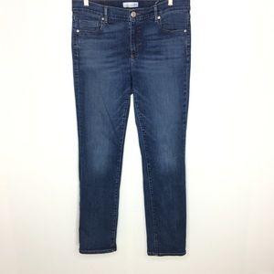 Ann Taylor Loft Modern Straight Jeans Size 31/12
